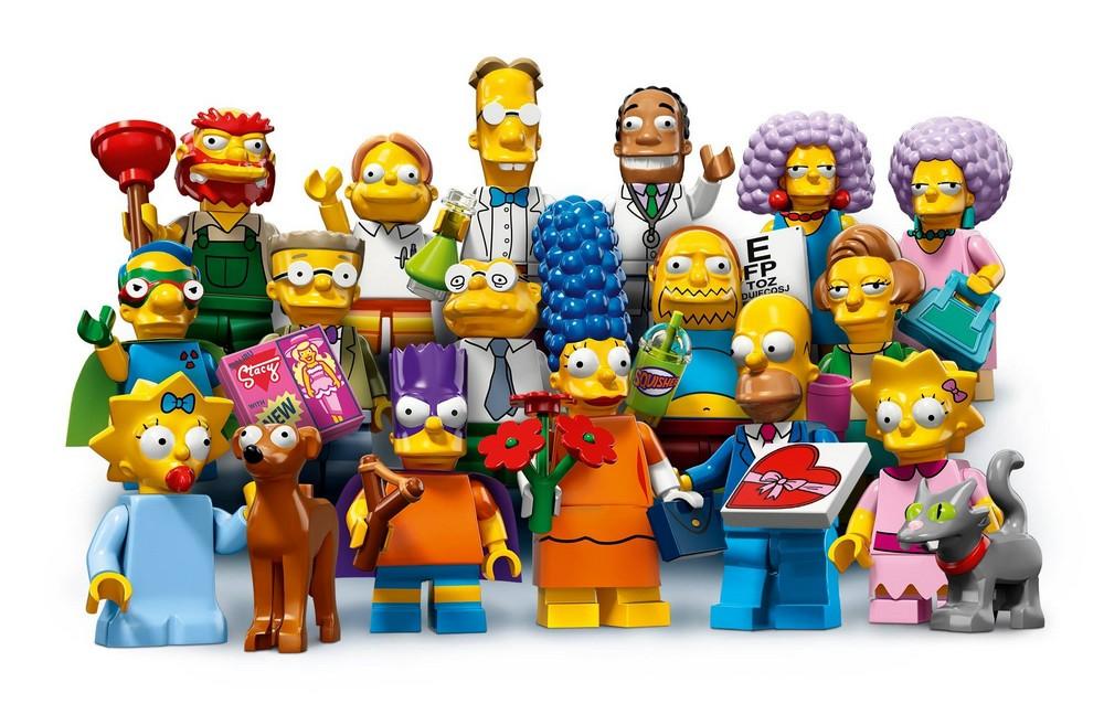Минифигурки Симпсоны 2-й выпуск