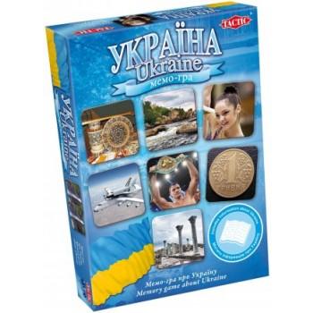 Настольная игра Tactic Украина мемо-игра Б/У (02870)