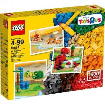 Конструктор LEGO Classic Коробка кубиков для творческого конструирования большого размера Конструктор LEGO® 10654