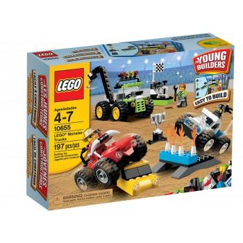 Конструктор LEGO Bricks & More Конструктор LEGO Грузовики монстры