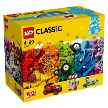 LEGO Classic Кубики и колеса 10715
