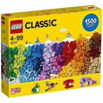 Конструктор LEGO Classic Кубики, кубики, кубики! 10717