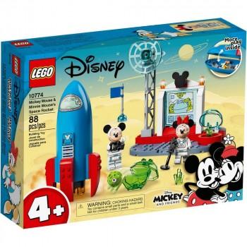 Конструктор LEGO Mickey and Friends Космическая ракета Микки и Минни 10774