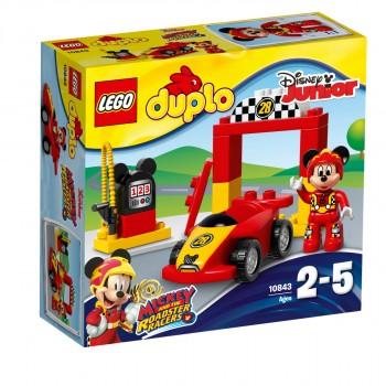 LEGO DUPLO Гоночная машина Микки 10843