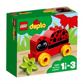 Конструктор LEGO DUPLO Моя первая божья коровка 10859