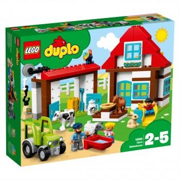 Конструктор LEGO DUPLO День на ферме 10869