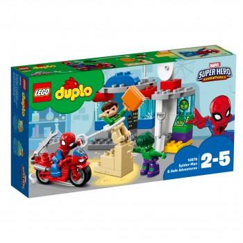 Конструктор LEGO DUPLO Приключения Человека-паука и Халка 10876