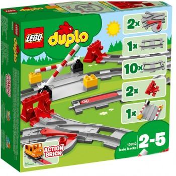 LEGO DUPLO Рельсы 10882