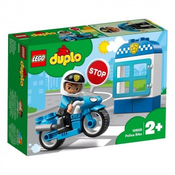 Конструктор LEGO DUPLO Полицейский мотоцикл 10900