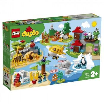 Конструктор LEGO DUPLO Животные мира 10907
