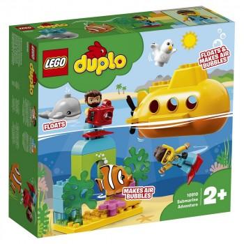 Конструктор LEGO DUPLO Путешествие субмарины 10910