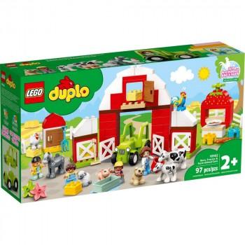 Конструктор LEGO DUPLO Хлев, трактор и сельскохозяйственные животные 10952