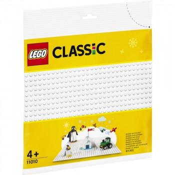 Конструктор LEGO Classic Белая базовая пластина 11010