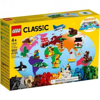 Конструктор LEGO Classic Вокруг света 11015