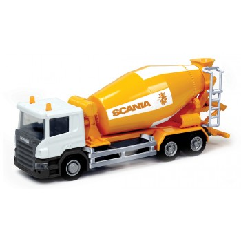 Scania cement mixer. Бетономешалка