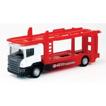 Машинка Scania Transporter Перевозчик автомобилей (164006)