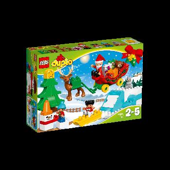Конструктор LEGO DUPLO Зимние каникулы Санты 10837