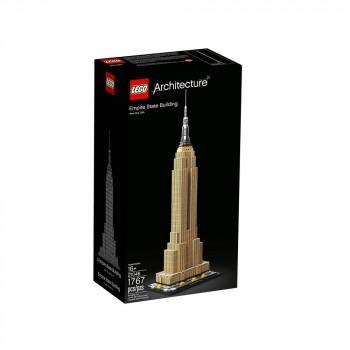 Конструктор LEGO Architecture Эмпайр-стейт-билдинг 21046