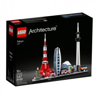 Конструктор LEGO Architecture Токио 21051