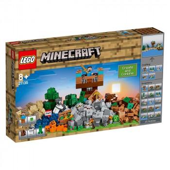 Конструктор LEGO Minecraft Верстак 2.0 21135
