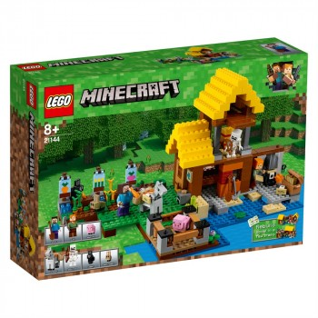 Конструктор LEGO Minecraft Фермерский коттедж 21144