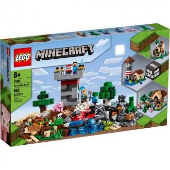 Конструктор LEGO Minecraft Творческая мастерская 3.0 21161
