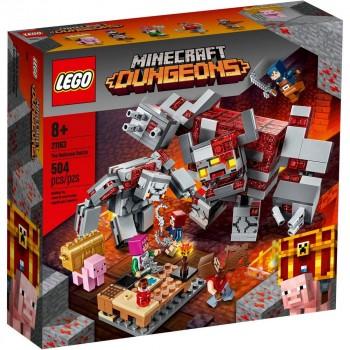 Конструктор LEGO Minecraft Бой за краснокамень 21163