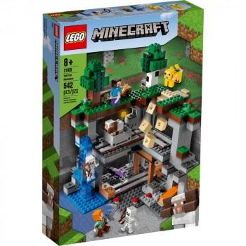 Конструктор LEGO Minecraft Первое приключение 21169