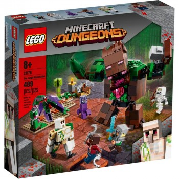 Конструктор LEGO Minecraft Мерзость из джунглей 21176