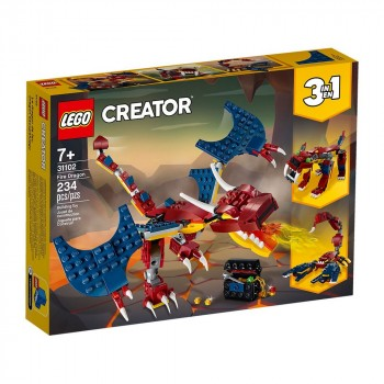 Конструктор LEGO Creator Огненный дракон 31102