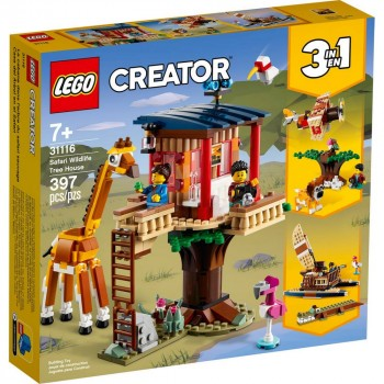 Конструктор LEGO Creator Домик на дереве для сафари 31116