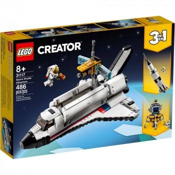Конструктор LEGO Creator Приключения на космическом шаттле 31117