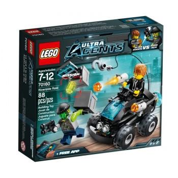 LEGO Ultra Agents Нападение с берега