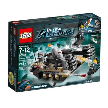 Конструктор LEGO Ultra Agents Проникновение гусеничного танка Тремора