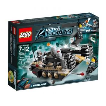 LEGO Ultra Agents Проникновение гусеничного танка Тремора