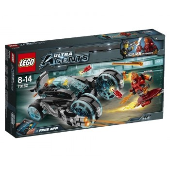 Конструктор LEGO Ultra Agents Перехват Инферно