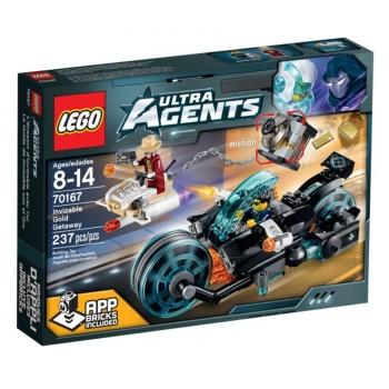 Конструктор LEGO Ultra Agents Похищение золота 70167