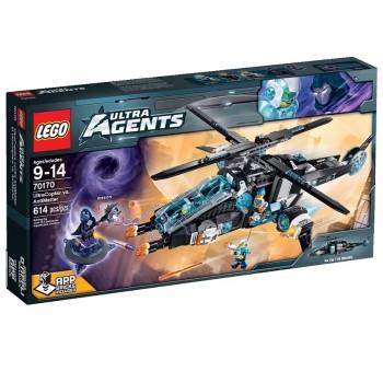 Конструктор LEGO Ultra Agents Ультравертолёт против Антиматерии 70170