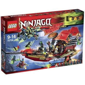 Конструктор LEGO Ninjago Корабль «Дар судьбы». Решающая битва 70738