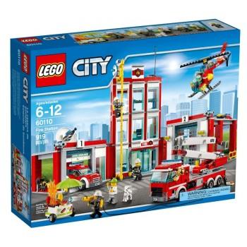 LEGO City Fire Пожарная часть 60110 (УТ)