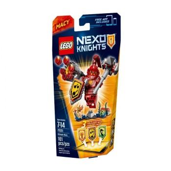 LEGO NEXO KNIGHTS Мэйси – Абсолютная сила 70331