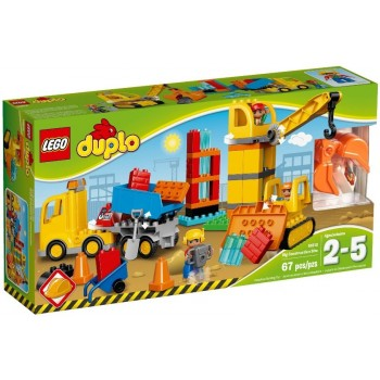 LEGO DUPLO Большая строительная площадка 10813