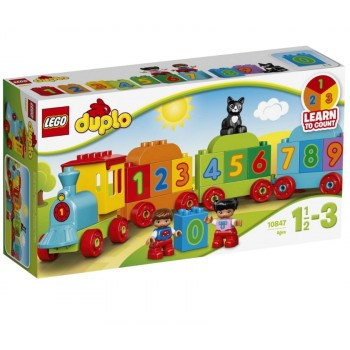 LEGO DUPLO Поезд «Считай и играй» 10847