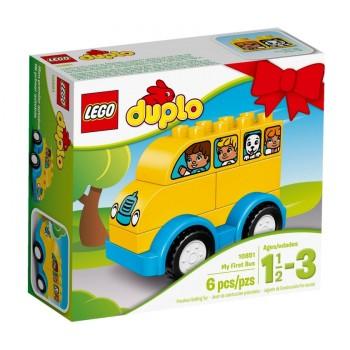 Конструктор LEGO DUPLO Мой первый автобус 10851