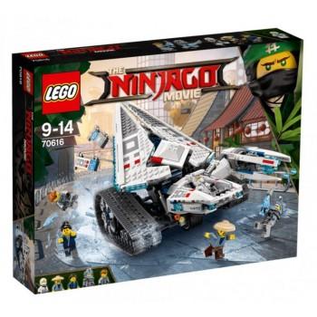 Конструктор LEGO Ninjago Ледяной танк 70616