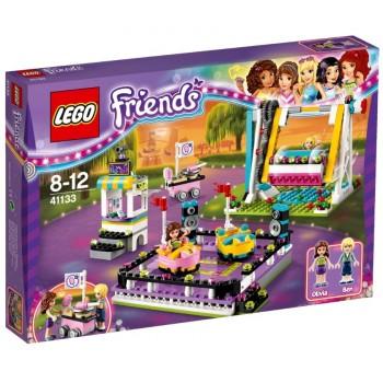 LEGO Friends Парк развлечений: аттракцион Автодром 41133
