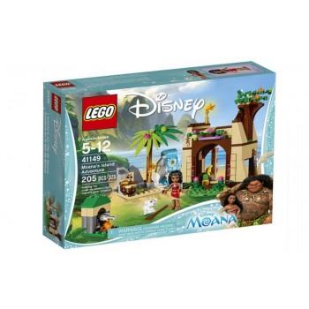 Конструктор LEGO Disney Princess Приключения Моаны на затерянном острове 41149