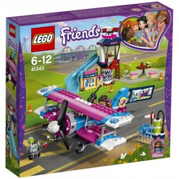 Конструктор LEGO Friends Экскурсия по Хартлейк-Сити на самолёте 41343