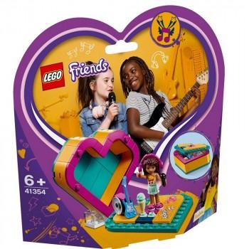Конструктор LEGO Friends Шкатулка-сердечко Андреа 41354