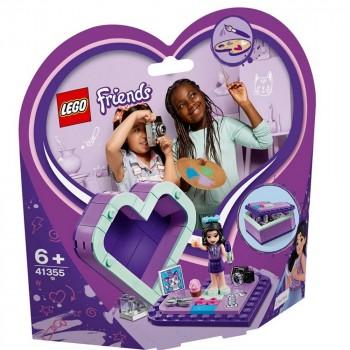 LEGO Friends Шкатулка-сердечко Эммы 41355